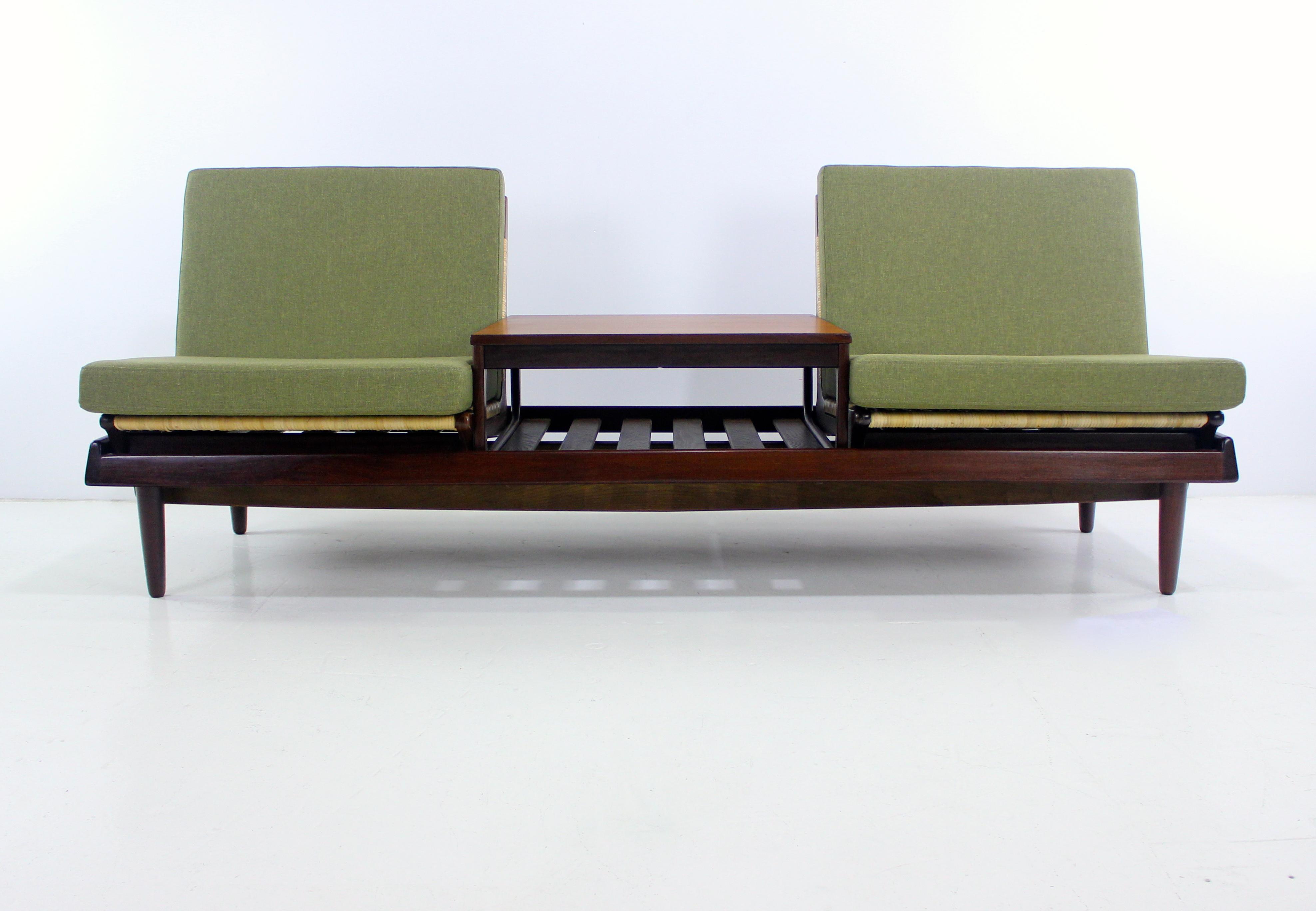 Danish Modern Modular Seating Group Designed by Hans Olsen