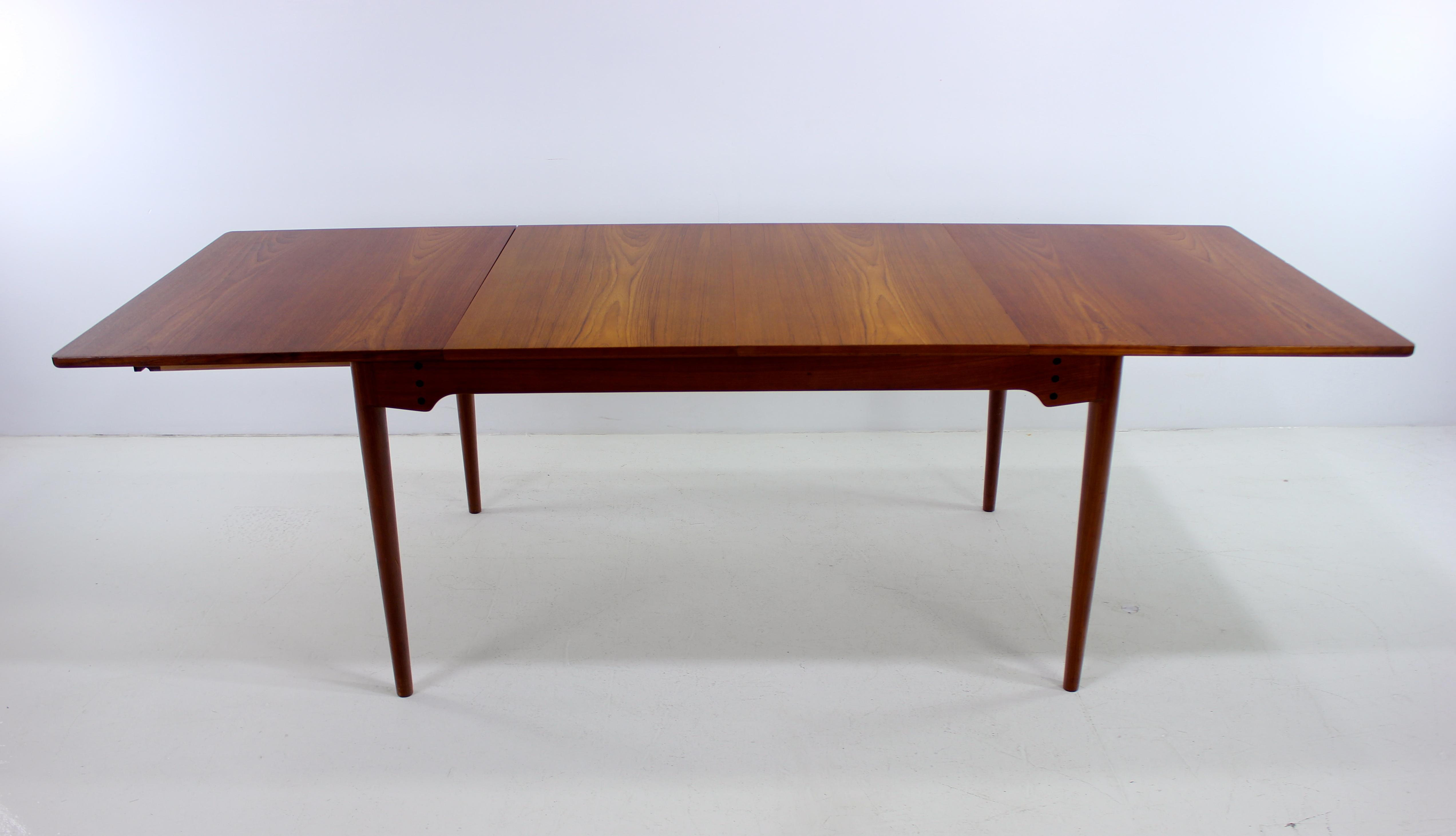 Brilliant Danish Modern Teak Dining Table Designed By Finn Juhl Pabps2019 Chair Design Images Pabps2019Com