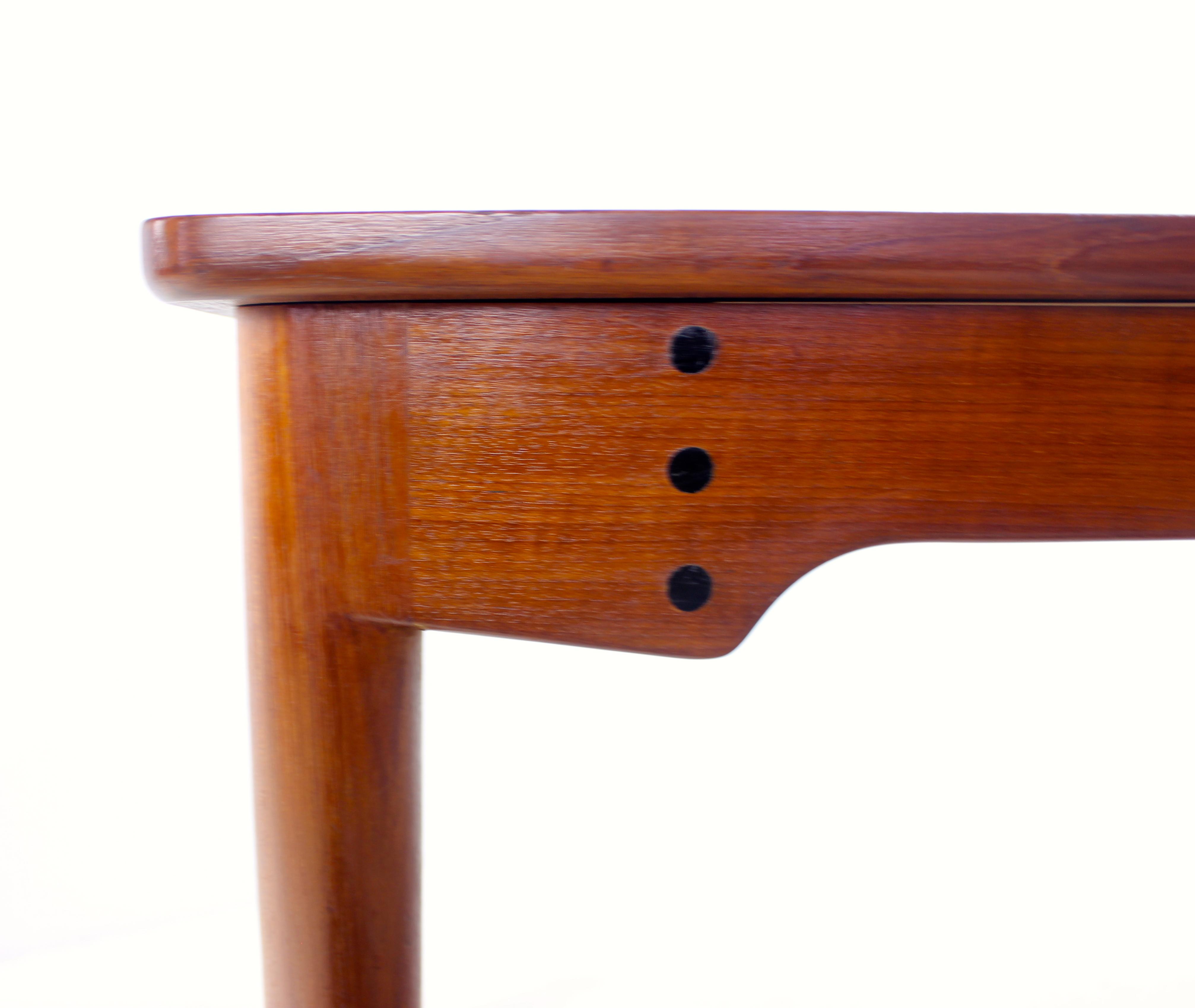 danish modern teak dining table designed by finn juhl lookmodern