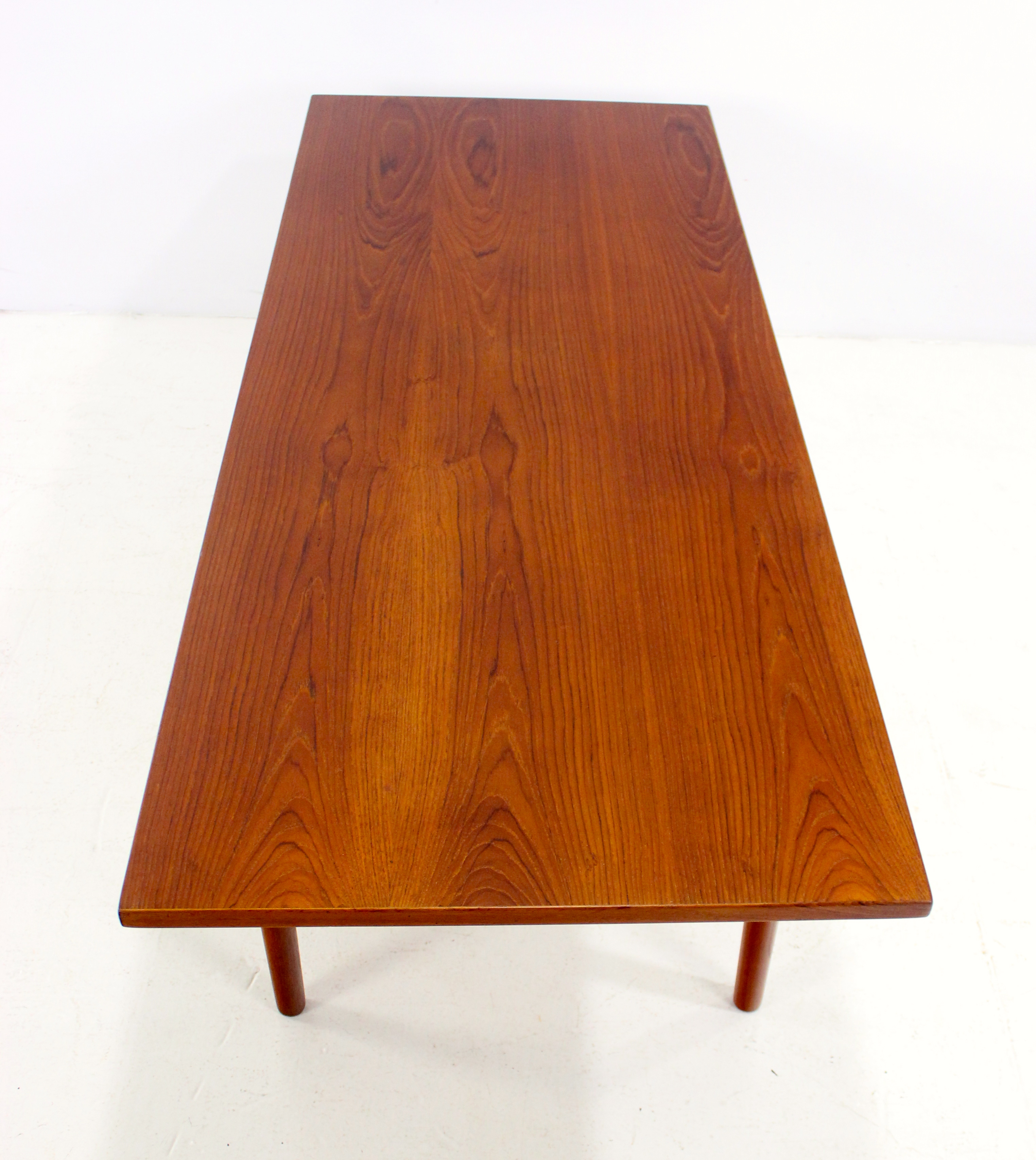 danish coffee table in solid teak by grete jalk for bokep te