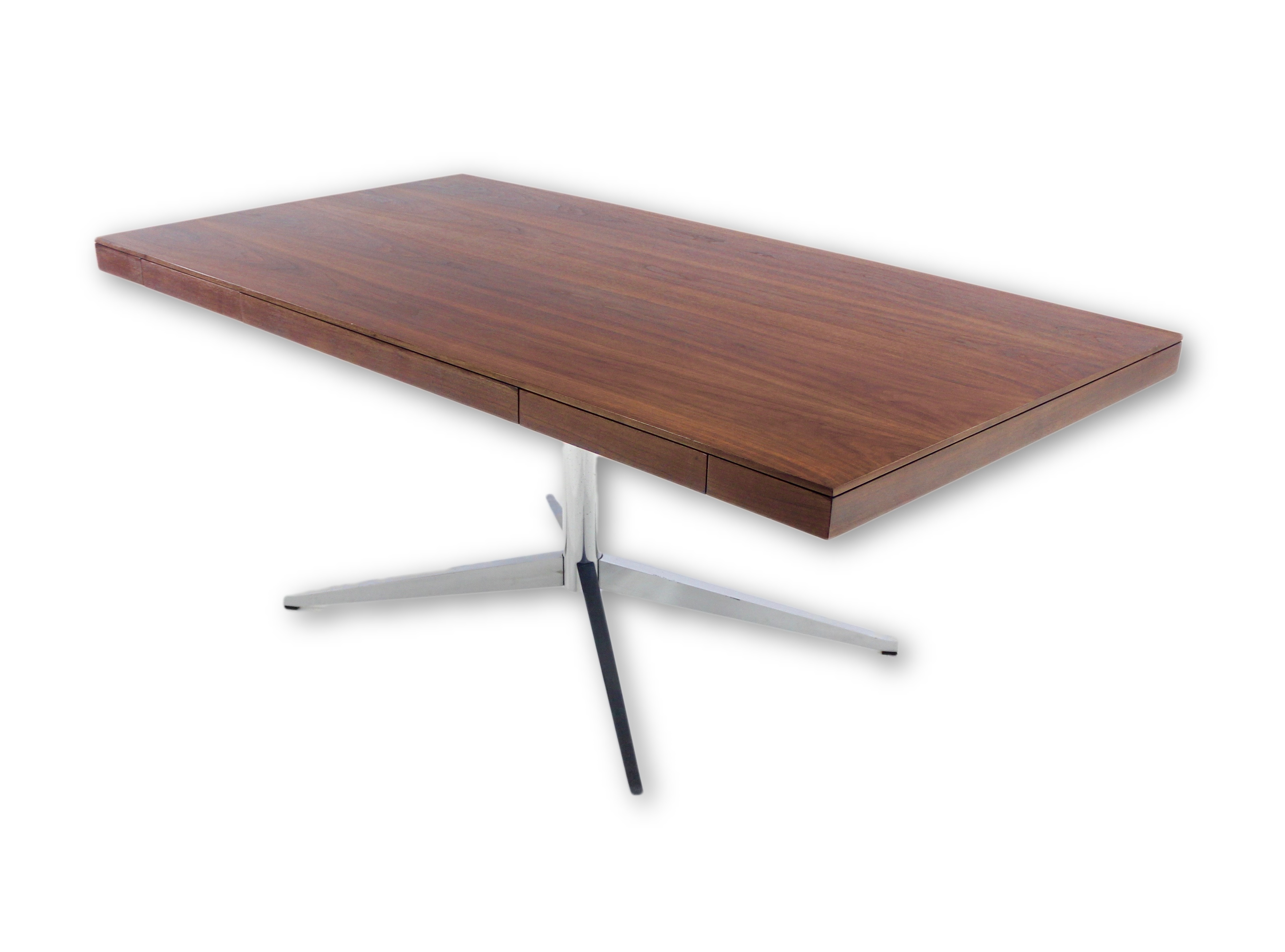 Mid Century Modern Executive Partner S Desk Designed By Florence Knoll