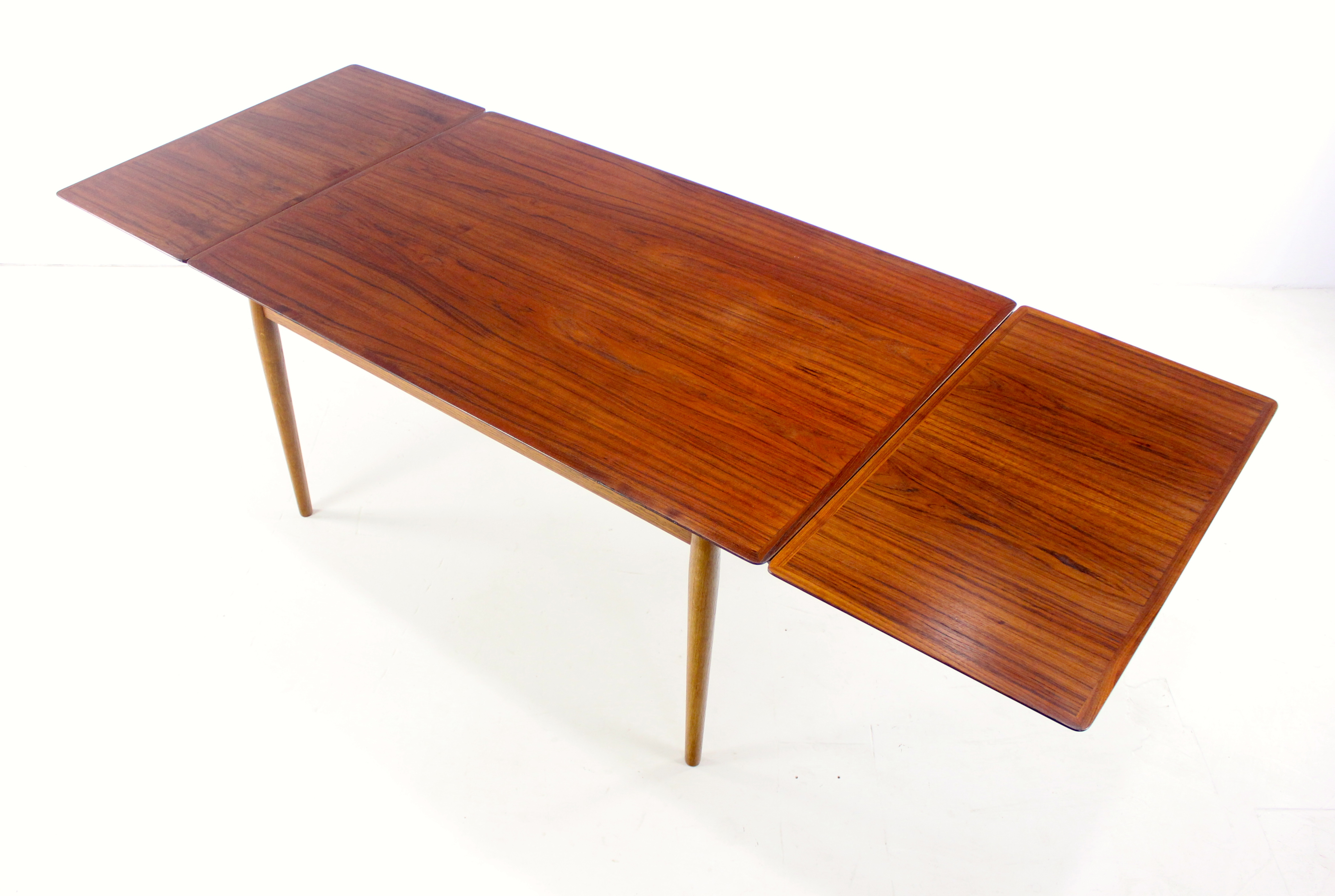 rosewood leaf products galaxiemodern modern danish scandinavian teak draw drawleaf midcentury denmark dining walnut table